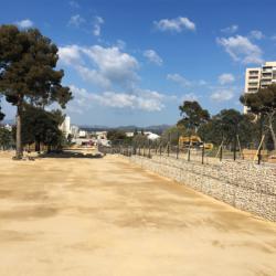 7 - Nivellement des terrains du nouveau boulodrome de Saint-Tronc