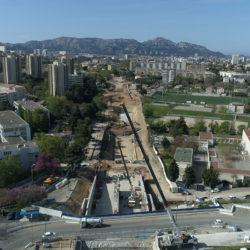 Section 2 - Avancement des travaux de terrassements de la section Verdillon - Mauriac