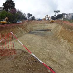 Section 2 - Terrassement du 2ème bassin de rétention entre les rues Verdillon et Francois Mauriac