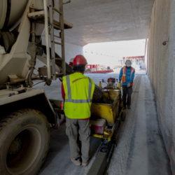 Section 1 - Réalisation des bordures de trottoirs coulées en place
