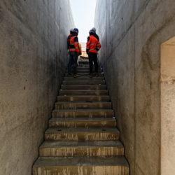 Section 1 - Escalier de sortie d'une issue de secours