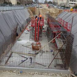 Section 3 - Préparation et coulage des voiles du bassin de rétention entre le chemin du Vallon de Toulouse et l'impasse Pélissier