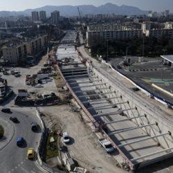 Section 1 - Réalisation de la tranchée couverte entre le Rond-point Haddad et la rue Verdillon