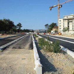 Section 3 - Réalisation des voiries (côté Ancien Chemin de Cassis).