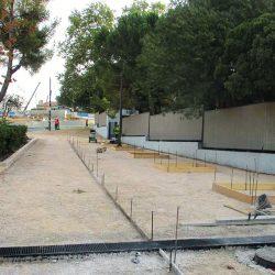 Section 2 - Aménagement du parvis devant le Lycée Jean Perrin.