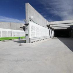 Section 1 - Trémie d'accès sud côté Verdillon