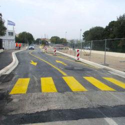 Section 2 - Aménagement provisoire de la rue François Mauriac
