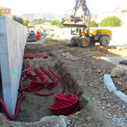 Section 3 - Réalisation des réseaux secs côté Vallon de Toulouse